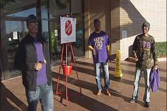 Albany, Ga. Omega Psi Phi chapter rings bells for those in need.
