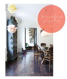 Herringbone Wood Floors // Could Be Interesting