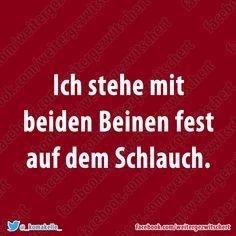 Mit beiden Beinen fest auf dem Schlauch .... -more pictures? see you soon on www.multismile.com