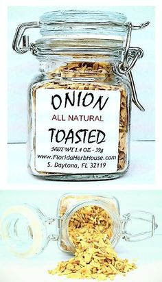 Toasted & Chopped Onion 1.4 oz. (39g) - Organic Eco Friendly Gifts! - Eco-Spices!