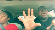 Brother annoys sister with epic road trip lip-sync