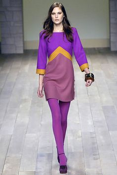 Emilio Pucci - Retro Arrow Dress - Fall 2007 - Ready to Wear
