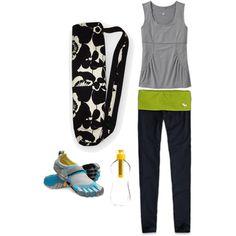 Black and white sophia yoga bag