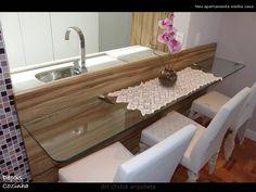 bancada de cozinha de vidro - Pesquisa Google
