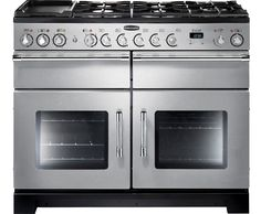 Rangemaster EXL110DFFSS/C Excel 110cm Dual Fuel Range Cooker - Stainless Steel / Chrome