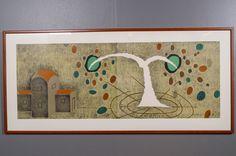 Hannu Väisänen: Il mira colo, 1990, litografia, 54x114 cm, edition 85/100 - Huutokauppa Helander 05/2015 1990, Finland, Frame, Home Decor, Art, Picture Frame, Art Background, Decoration Home, Room Decor