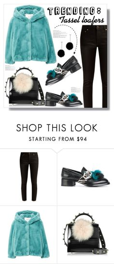 """""""Trending: Tassel Loafers"""" by queenvirgo ❤ liked on Polyvore featuring Khaite, Prada, MANGO, Les Petits Joueurs and tuleste market"""