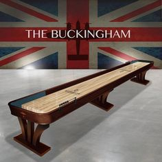 Buckingham Shuffleboard Handmade by Waldersmith Coke Machine, Vintage Coke, Air Hockey, Traditional Games, Casino Games, Outdoor Furniture, Outdoor Decor, Arcade Games, Game Room