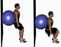 Αποτέλεσμα εικόνας για ασκησεις αλτηρες σε μπάλα Gym Equipment, Exercise, Sports, Ejercicio, Hs Sports, Excercise, Work Outs, Workout Equipment, Sport