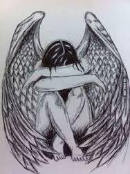 Image result for angel sketch