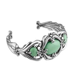 Carolyn Pollack Jewelry | Utah Variscite Large Cuff Bracelet