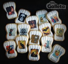Galletas decoradas. Preparados para Halloween?
