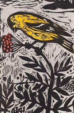 Bird-Berries.jpg (540×827) Kent Ambler