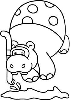 Dibujos para Colorear. Dibujos para Pintar. Dibujos para imprimir y colorear online. Animales 9