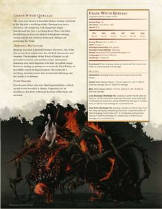 Chaos Witch: DnD 5e Homebrew