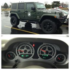 New JEEP WRANGLER JK ARMY EDITION.