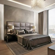 The best high-end bedroom design ideas, curated by Boca do Lobo to serve as inspiration for the modern interior designer. Master bedrooms, minimalistic bedrooms, luxury bedrooms and everything bedroom related with a variety of choices that will fit any mo Luxury Bedroom Design, Master Bedroom Design, Home Decor Bedroom, Interior Design, Bedroom Ideas, Master Bedrooms, Modern Interior, Bedroom Designs, Master Suite