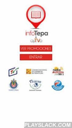 Infotepa.com  Android App - playslack.com , Directorio de Negocios de Tepatitlán Jalisco.-NUEVO- Mapa dinámico con las Rutas de Transporte Urbano-Revisa la cartelera de cine de Tepa-Busca un negocio o producto por palabra clave.-Navega por categorías.-Localiza un negocio en el mapa.-Genera la mejor ruta para llegar a un negocio.-Llama desde la pantalla de la aplicación.-Horarios de Misa-Llama un taxi desde la AppServicio en Sociedad con ayTVo tu Red