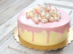 Лимонный торт «Канарейка» без масла