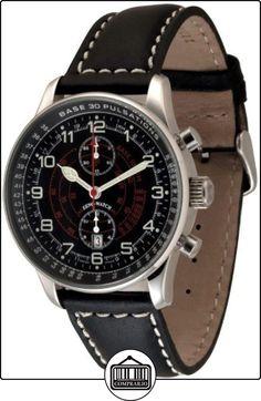 Zeno-Watch Reloj Mujer - X-Large Pilot Chrono Pulsometer - P557BVD-a1-Puls  ✿ Relojes para mujer - (Lujo) ✿