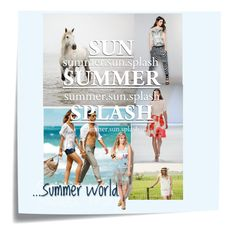 Summer Splash by jj-van-gemert on Polyvore featuring MARC CAIN and Michael Kors