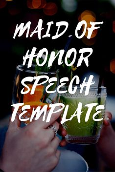 What should a maid of honor speech include? What format should be delivered in? And how long should it be? Well, there's no right or wrong answer to any of those questions. There is no definitive Wedding Toast Speech, Wedding Speech Quotes, Love Quotes For Wedding, Best Man Wedding Speeches, Wedding Toast Quotes, Best Friend Wedding Speech, Bride Gifts From Maid Of Honour, Maid Of Honour Dresses, Maid Of Honor Dress Long