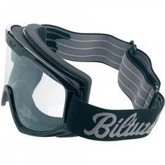 BILTWELL - schwarz - klassische Moto-Cross Brille