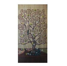 Buy the Tree of Life Beaded Door Curtain online, featuring the gorgeous rendering of the swirling branches of the tree of life. Great value, best prices.