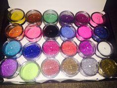 Make-up glitter
