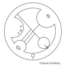 """Universe"" written in Circular Gallifreyan. The Language of the Time Lords of Gallifrey. Doctor Who. Find more awesome pins @ Speak of Gallifrey"