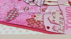 Tutorial tarjeta con paleta de colores y corazones con doll de JN