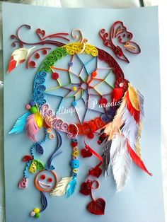 Dreamcatcher quilled