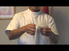 腰痛さらし骨盤矯正法(さらしの作り方)20121118