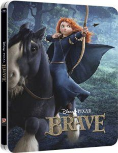 Brave Blu-ray Steelbook 3D+2D Disney UK Exclusive Limited Edition: Amazon.co.uk: DVD & Blu-ray