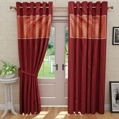 Nakalchee Bandar Solid Long Door Curtains Find Online At Low Prices Compare
