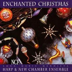 Mendieta Anna Maria Enchanted Christmas CD Jesu Adeste Ave 1993 blujay by sarahsmiles