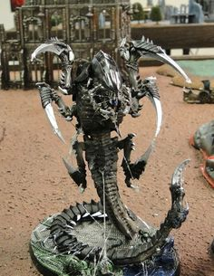 Aliens Movie Styled Tyranids - Armies on Parade | Warhammer 40k, Fantasy, Wargames & Miniatures News: Bell of Lost Souls