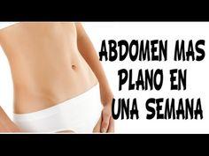 Como perder abdomen rápidamente. Consejos para tener el abdomen plano en una semana o dos, perder barriga rápido. How to Get a Flat Stomach and Lose Belly Fa...