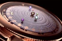 29 Gifts That Are Out Of This World: This watch that shows planetary orbits is super cool and I could never afford it.