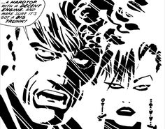 Dwight and Gail from Sin City, my favorite couple in the comic book world.