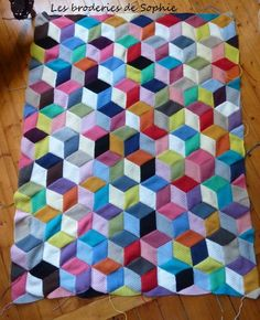 Vasarely Blanket (3)