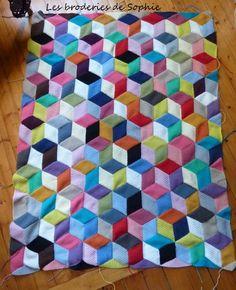Vasarely Blanket (3)