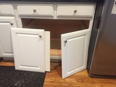 After seeing what he does to his kitchen cabinets, you might never store your kitchen stuff the same way again!