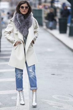 Faz frio nas ruas de Nova York. As baixas temperaturas b66fb0f21a7