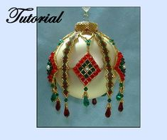 Stained Glass Beaded Drape