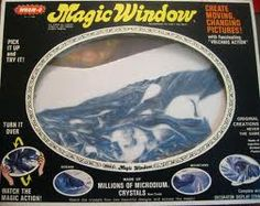 "I had one of these...Wham-o's ""Magic Window"""