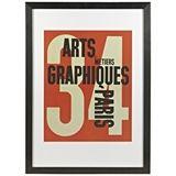 Arts Et Meteir Print 78x108cm