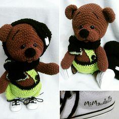 My crochet bear Ríša ❤