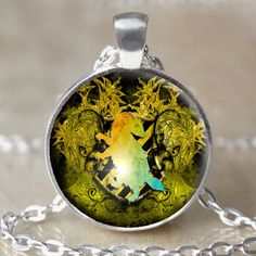 Hufflepuff Crest Necklace by 4EverAlwaysDesigns on Etsy