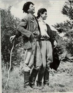 From Folk Music of Greece (published Old Photos, Vintage Photos, Heraklion, Greek History, Crete Greece, Folk Music, My Land, Timeline Photos, Vintage Photography